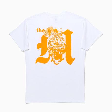 HYENA TEE [White / Orange]