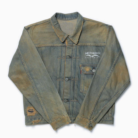 MTM RECORDINGS DENIM JACKET [Used denim jacket]