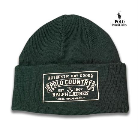POLO RALPHLAUREN POLO COUNTRY KNIT CAP