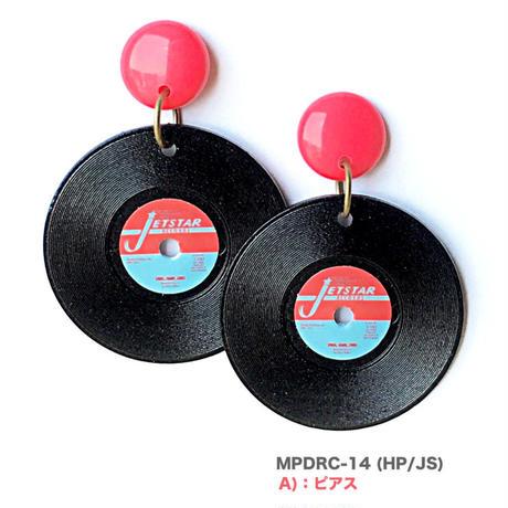 """pierce & earring """"record-04"""""""