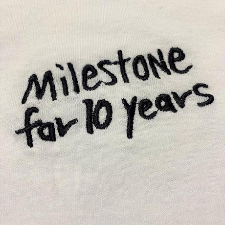 刺繍 ロングスリーブTシャツ