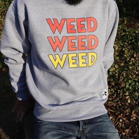 """WEED"" CREW SWEAT"