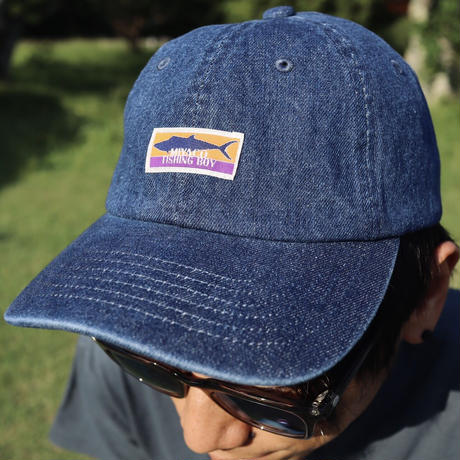 """354 LOGO"" DENIM BASEBALL CAP"