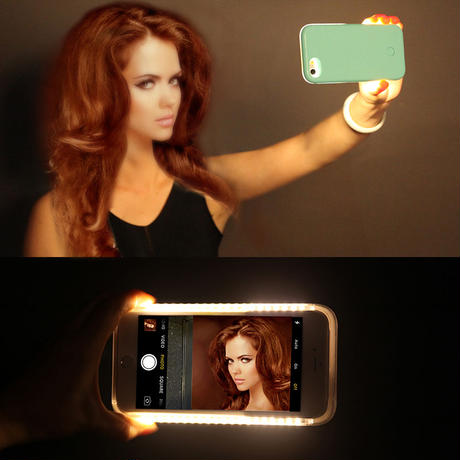 Selfie Led Case For iphone・Android