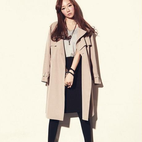 B078 Cool Design Trench Coat