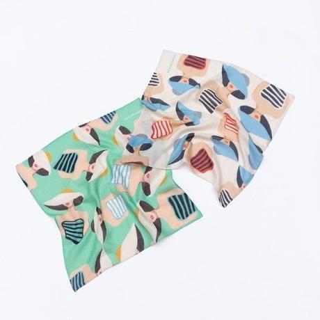 YARN&COPPER   Double gaze Organic cotton  'Swimsuits' ハンカチ