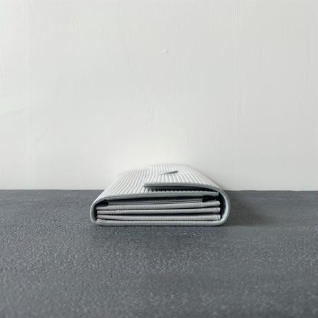 cardboard long wallet  gray