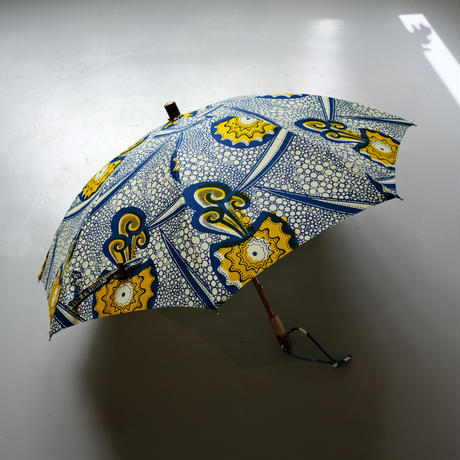 bonbonstore アフリカンバティック長傘(日傘)BON-21014 NO:8