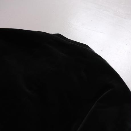 SINME  ベルベットブルゾン BLACK S21AW-09