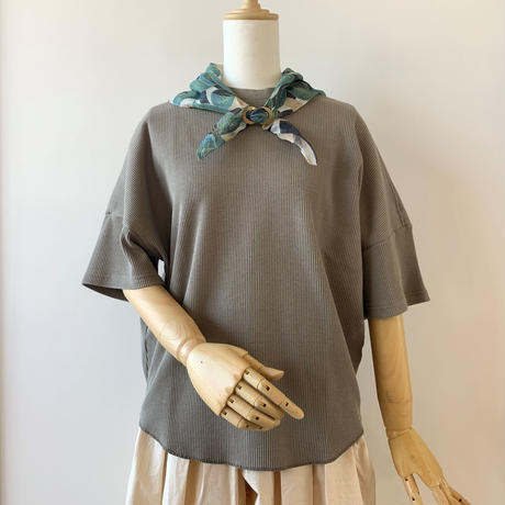 HARVESTY   WAFFLE BIG T-SH(ワッフルビッグTシャツ) BEIGE A51904