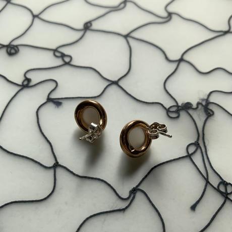 MONICA CASTIGLIONI   TONDI17 with Graymoonstone/Bronze MR207