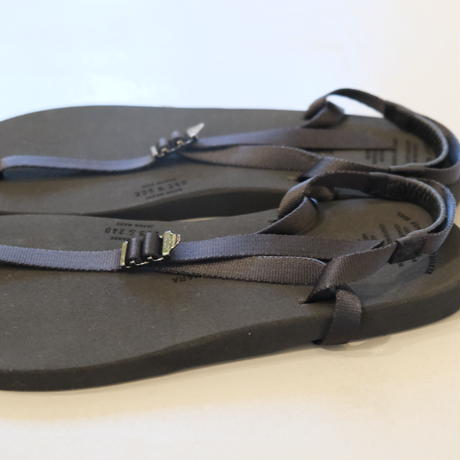 """BEAUTIFUL SHOSE barefoot sandals """"THICK SOLE"""" BSS1812006  BLACK"""