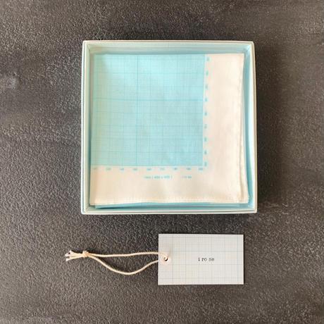 graph paper handkerchief