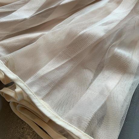 THOMAS MAGPIE  long tulle skirt stripe 2201605