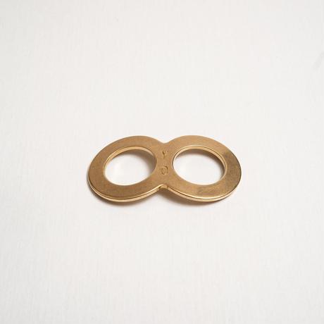 'Brixton Shuffle'  8リング付きミニスカーフ
