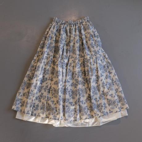 THOMAS MAGPIE  flower print skirt NO:2212610 IVORY