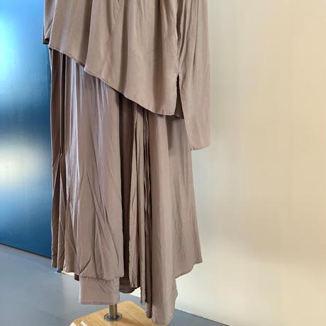 suzuki  takayuki     long skirt  gray A211-22
