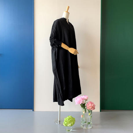 suzuki takayuki      peasant dress  i           black