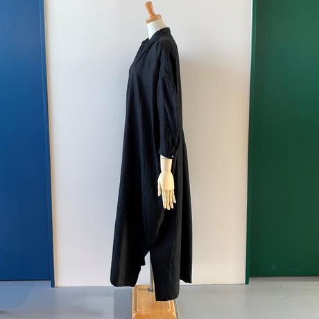 suzki takayuki peasant dress    black  A211-14