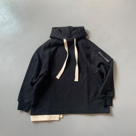 THOMAS MAGPIE  sweat parka  無地【2211832】