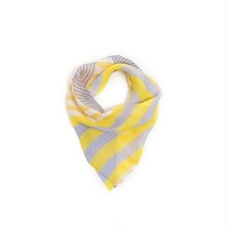 Victoria  (lemon)  リング付きミニスカーフ