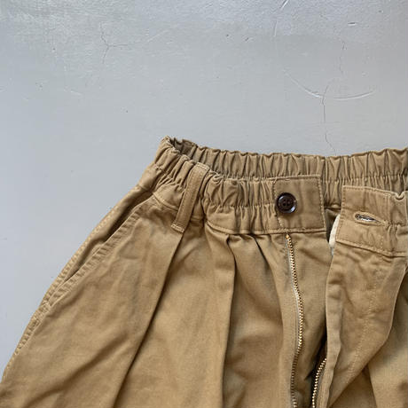 HARVESTY     CIRCUS PANTS サーカスパンツ  COL: 19(ブラック)