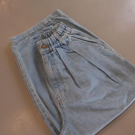 HARVESTY DENIM CIRCUS PANTS デニムサーカスパンツ  ライトブルー A11801 -93