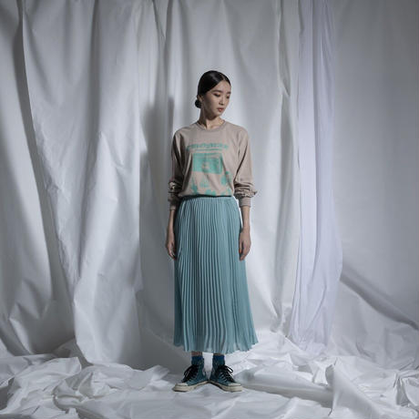 THOMAS MAGPIE   sheer voile pleats skirt【2211605】