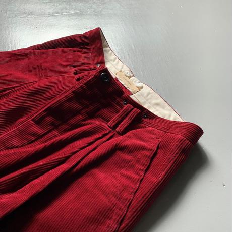 suzuki takayuki wide legged pants (限定品) B212-02