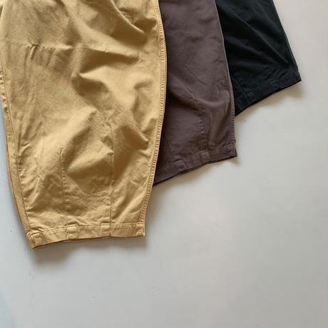 HARVESTY     CIRCUS PANTS サーカスパンツ  COL: 38 CHOCO チョコ