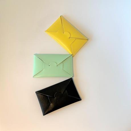 SEAMLESS CARD CASE   / YELLOW