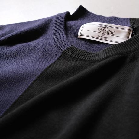 THOMAS MAGPIE  トーマスマグパイ crew neck knit 2213701