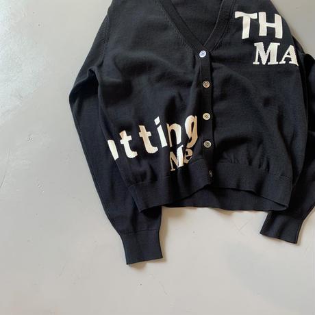 THOMAS MAGPIE logo cardigan【2211702】