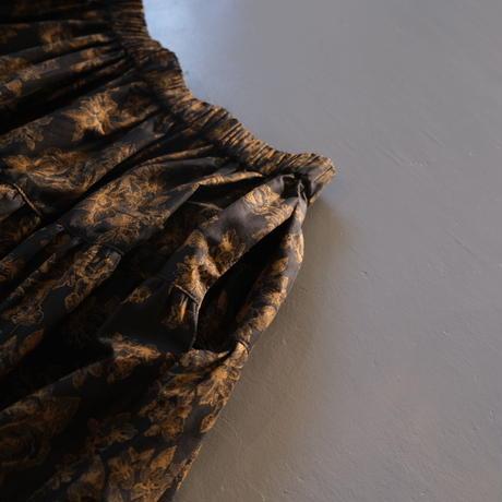 THOMAS MAGPIE  flower print skirt NO:2212610 BLACK