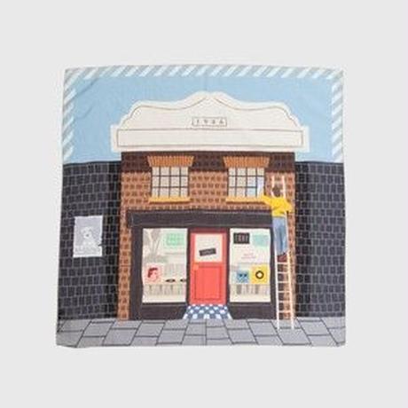 'Record Shop'  Daylight 8リング付きミニスカーフ