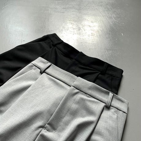 THOMAS MAGPIE    tuck pants 2204310