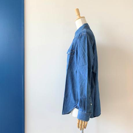 SINME ウエスタンデニムシャツ MEN'Sサイズ