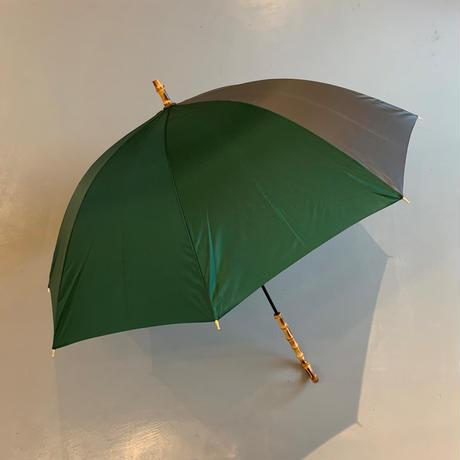 bonbonstore バイカラー長傘(グリーン×グレー)BON-20016