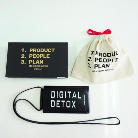 intoxic イントキシック phone case  LT -009 03  DIGITAL DETOX