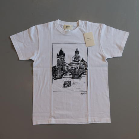 HARVESTY PRINTED T-SH【TRAVEL】プリントTee TRAVEL   A52109