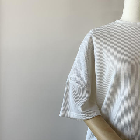 HARVESTY   WAFFLE BIG T-SH(ワッフルビッグTシャツ) WHITE A51904
