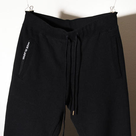 EGSOLID BASIC LOUNGE SWEAT PANTS IN Black