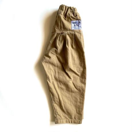 デニムバックスタイルタックパンツ (150-160cm)