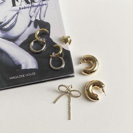 (382)stainless big hoop pierce