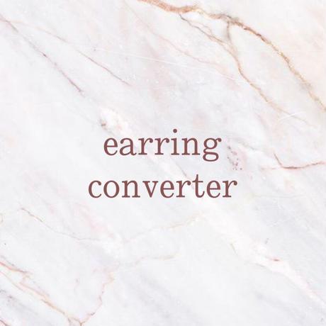 Earring converter