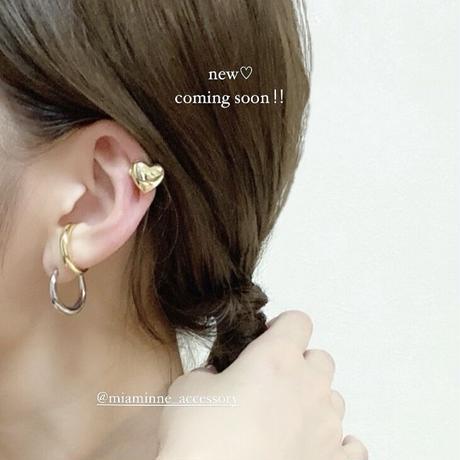 (383)the heart ear cuff