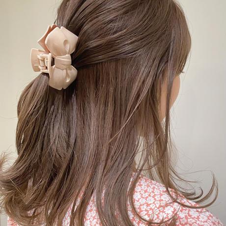 (67)ribbon hair clip