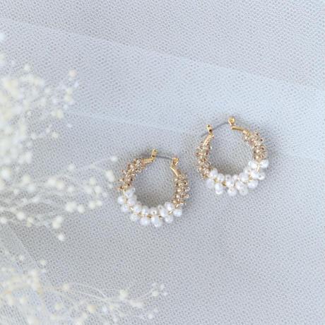 Beads hoop (white)