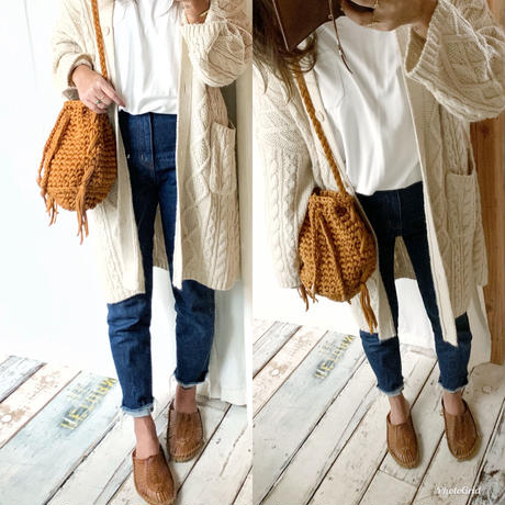 手編みハンドメイドバッグ