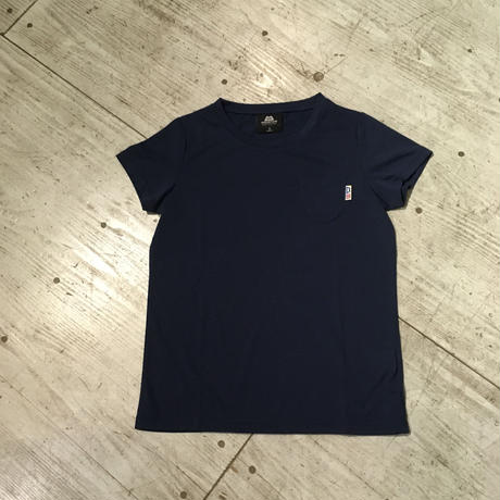 MOUNTAIN EQUIPMENT『WOMEN'S POCKET TEE』インディゴ